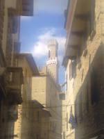 Volterra's street by bohemian-sam