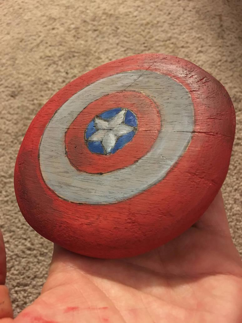 Captain America Shield By Redhero98 On Deviantart