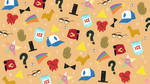 Gravity Falls Pattern Wallpaper