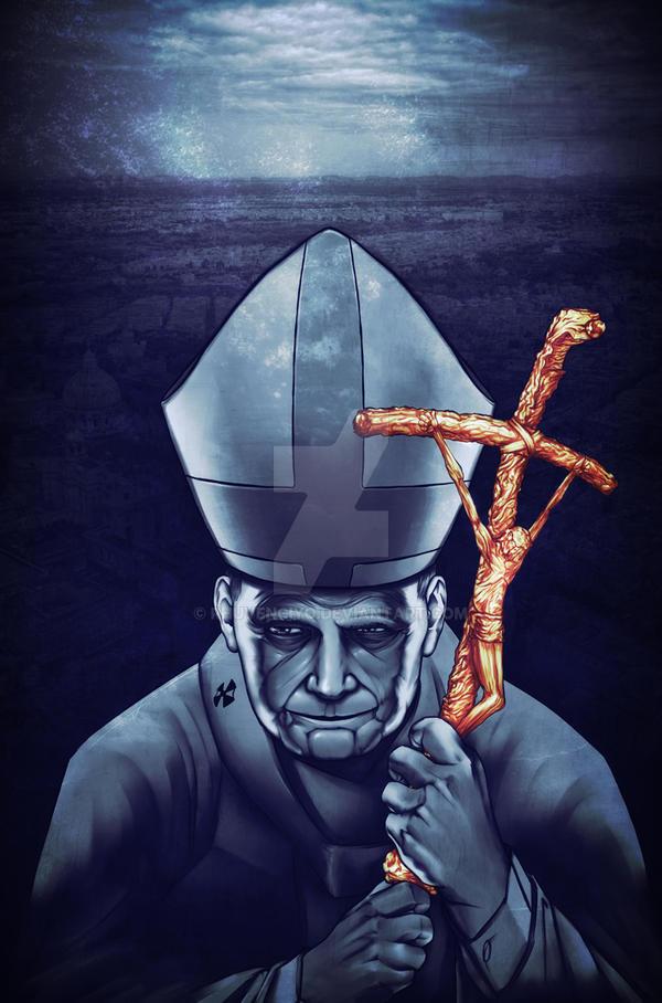 JOAN PAUL II by rhuvenciyo