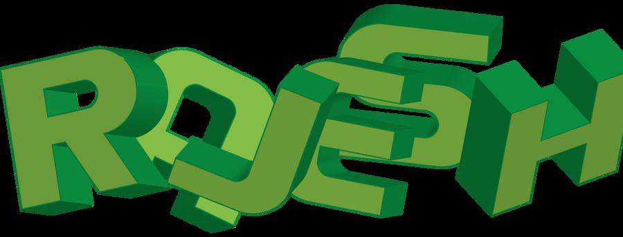 Rajesh Logo by SIRSENDUDUTTA