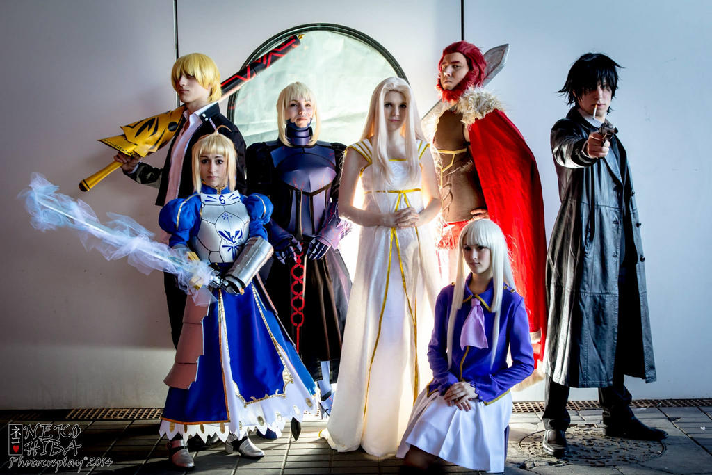Fate Zero/Stay Night group by TheDarkWisher