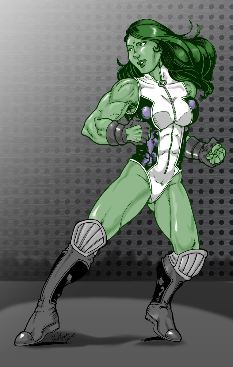 She-Hulk by Xanditz
