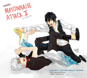 mayonnaise attack II by waenn