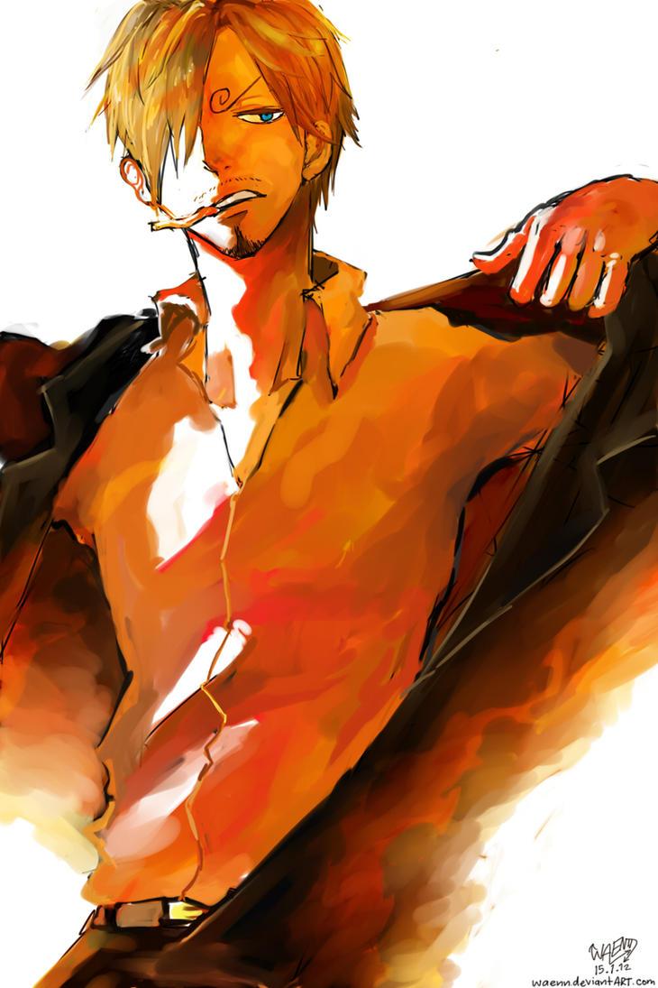 sanji by waenn