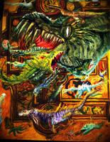 Celtic Deltora Monsters by Meorow
