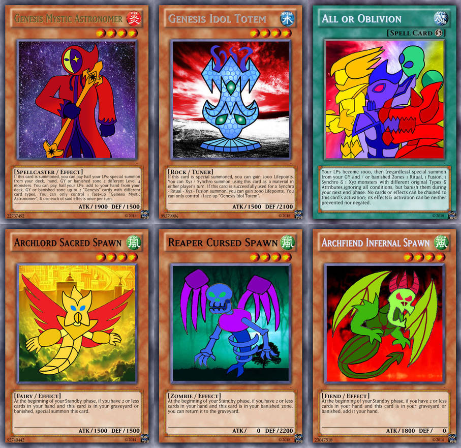 Genesis Cards of Yugioh - Hara Chronicles - 2 by