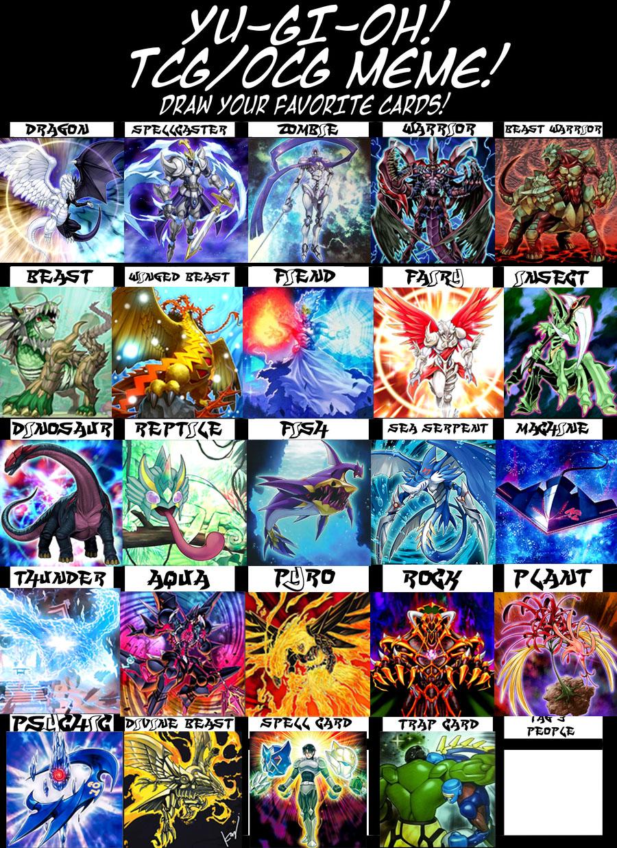 Yu-Gi-Oh! Tcg Meme - Filled FUNNY DESCRIPTION by imadmagician