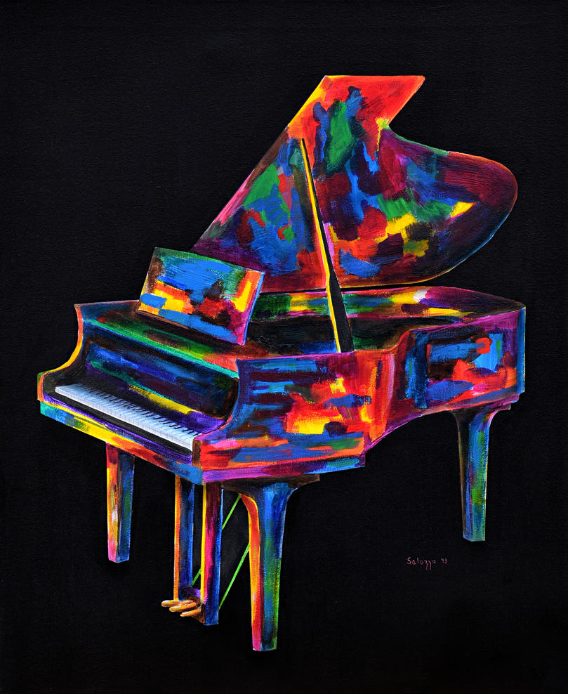abstract piano art wallpaper - photo #8