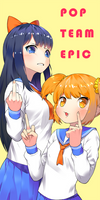 POP TEAM EPIC by ddoalo