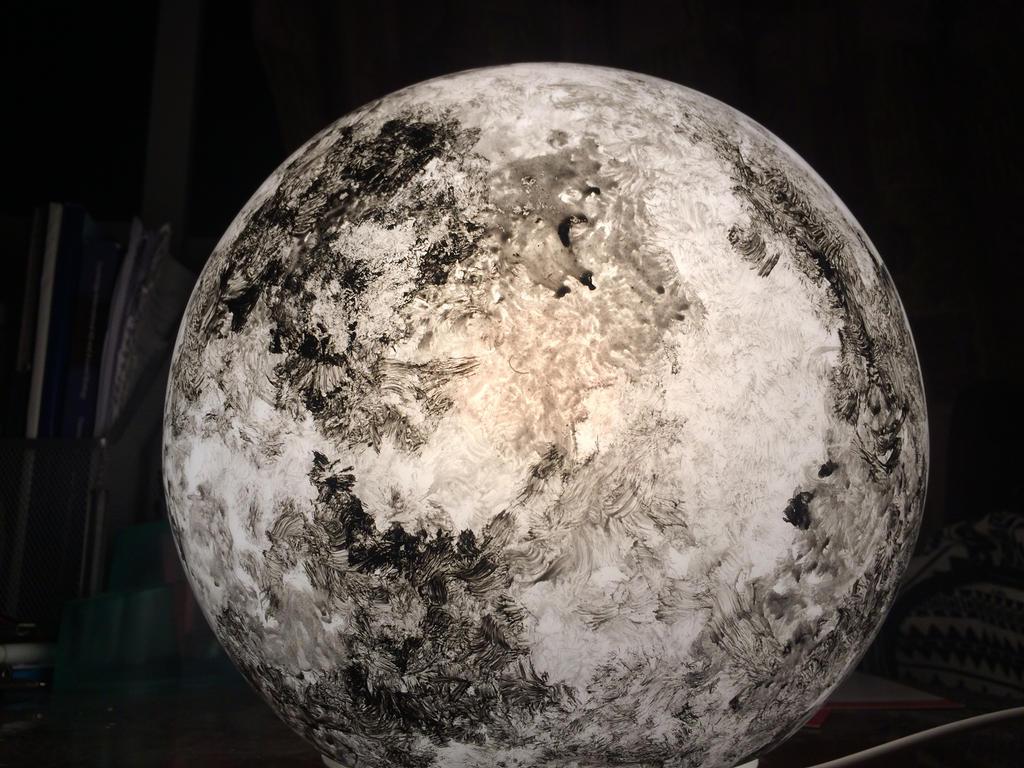 Moon by AlaaNosair