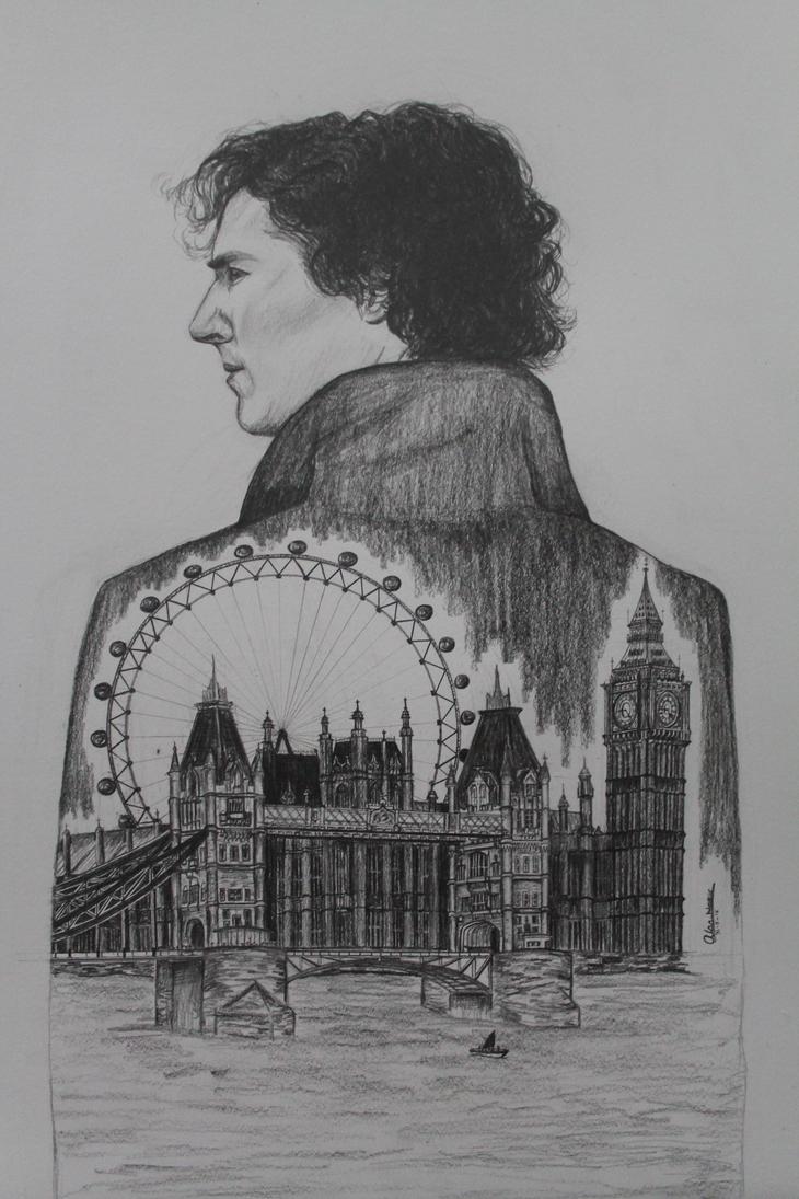 Sherlock by AlaaNosair