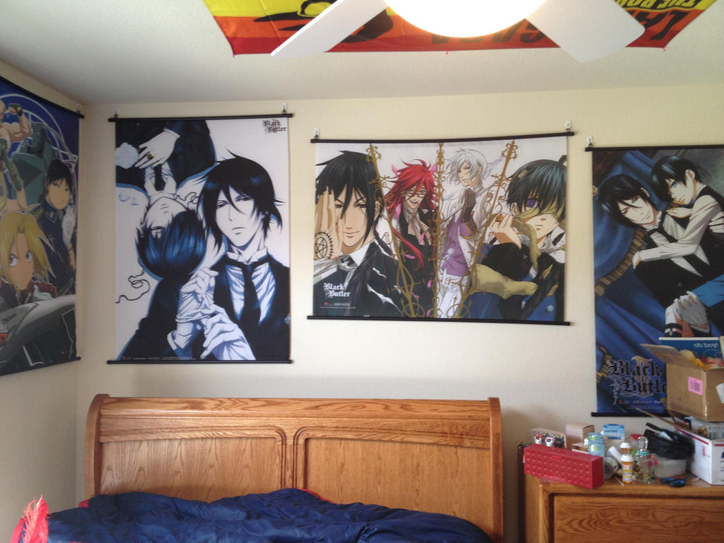 My anime bedroom 1 by black savage garden on deviantart for Anime bedroom ideas