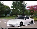 Mazda RX7 Virtual tuning