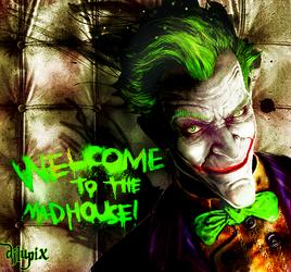 Joker arkham city color by djlupix