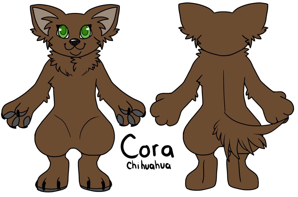 Fursuit Ref: Cora by noewel