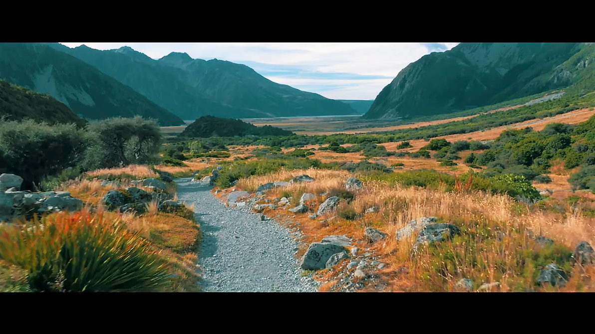 Chemin de New Zealand by boodlemoo