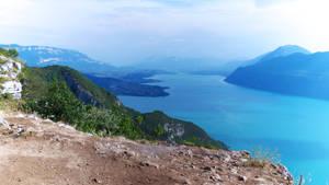 Lac du Bourget vue depuis La Chambotte