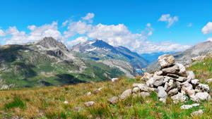 Sur le Mont a Val Isere