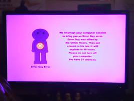 Barney Error stuffs by MetalGeekGuy64 on DeviantArt