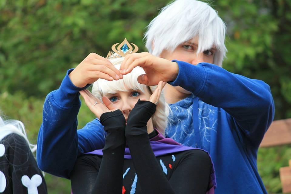 Jelsa cosplay by sakykeuh