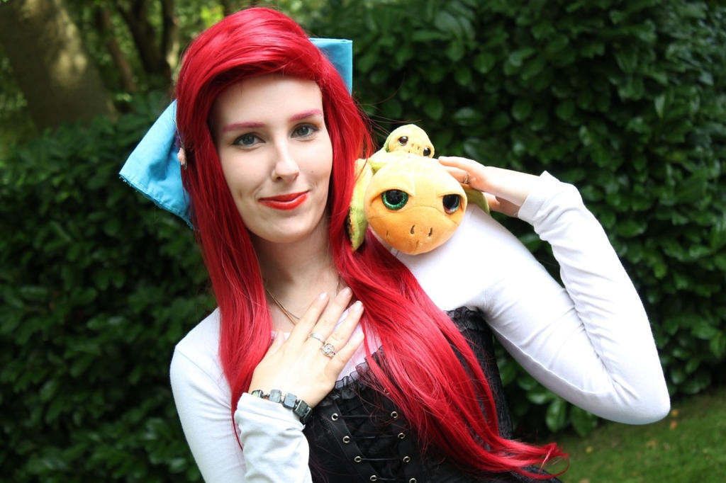 Ariel The little mermaid cosplay by sakykeuh
