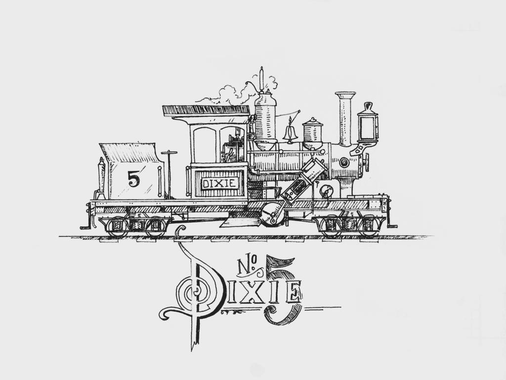 steam engine train group