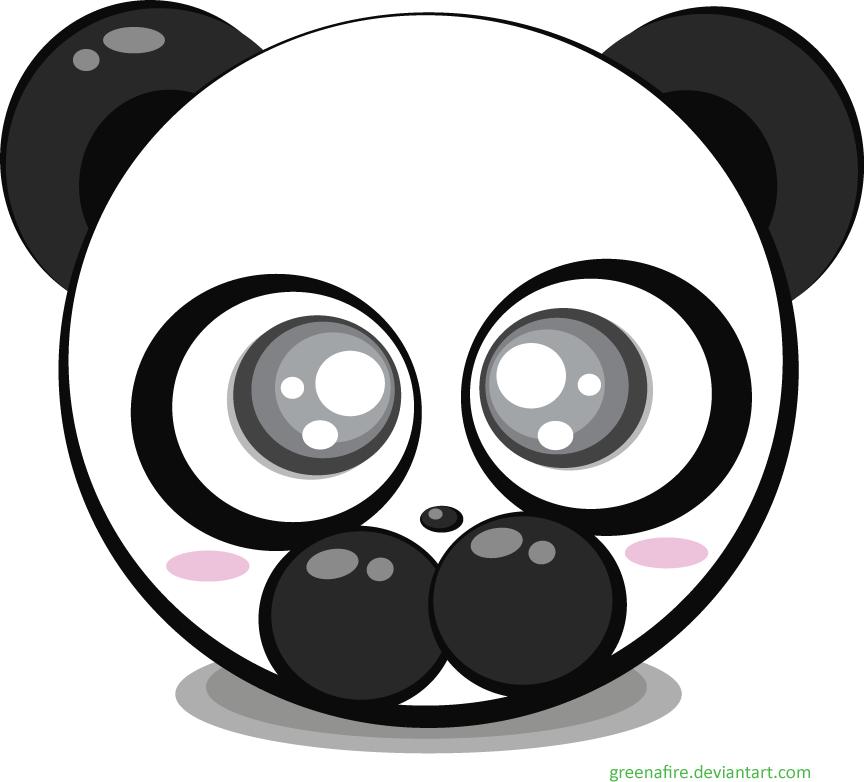 Chinese Panda Vector Panda Bear Vector by