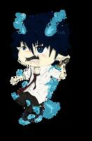 Ao No Exorcist: Rin Okumura by Kazzeru
