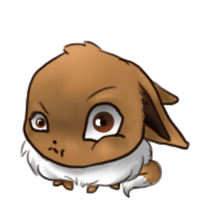 Free Eevee Journal doll by SpookyBjorn