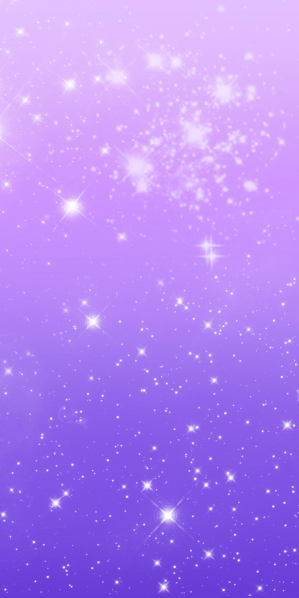 Free Custom Box Background: Purple Sparkles by SpookyBjorn