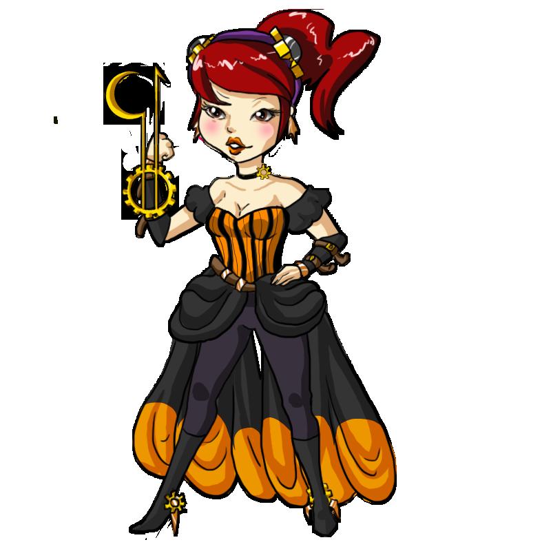 Steampunk Mel by SpookyBjorn