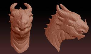 Jorloh Head Sculpt