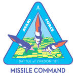 Atari Force Mission Patch 02 - Missile Command