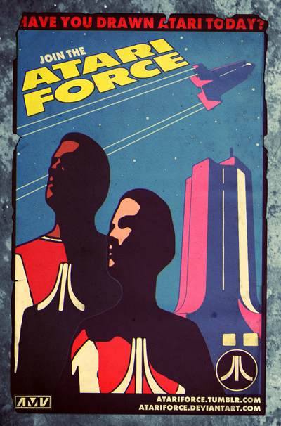 Join the Atari Force! by AbelMvada