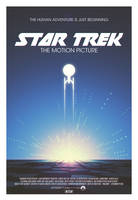 Star Trek: The Motion Picture poster by AbelMvada