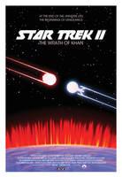 Star Trek II: The Wrath of Khan poster by AbelMvada