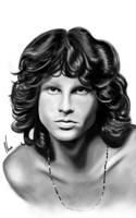 Jim Morrison by nassidraws