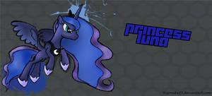 Princess Luna Fighting is Magic