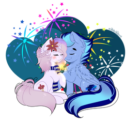 Happy new year!!! by WinterKitter