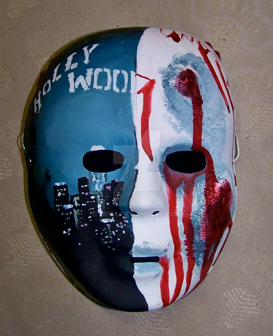 Hollywood Undead Mask V 2 By 3r1k4