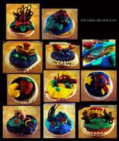 so many cupcakes by bonzaialsatian