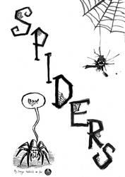 Spiders! Cover by bonzaialsatian