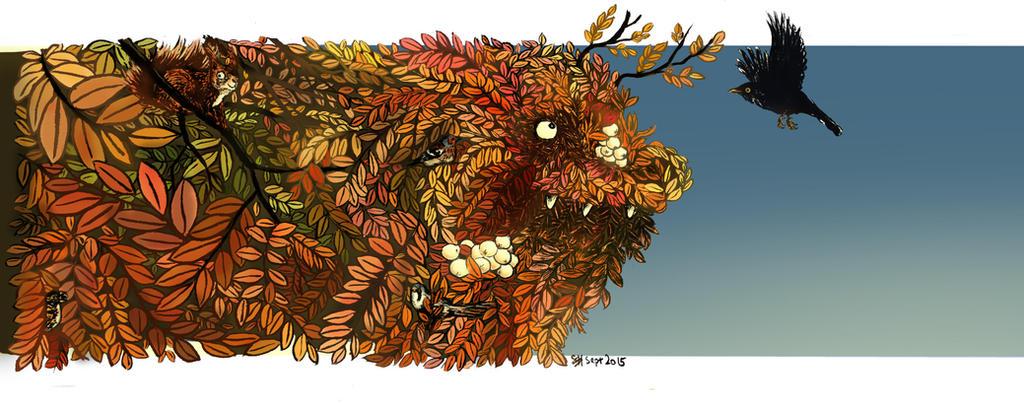 Autumn leaves by bonzaialsatian