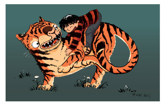 My tiger and me