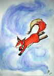Fox in a dream