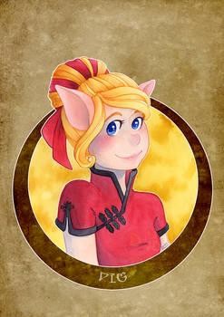 Zodiac - Pig