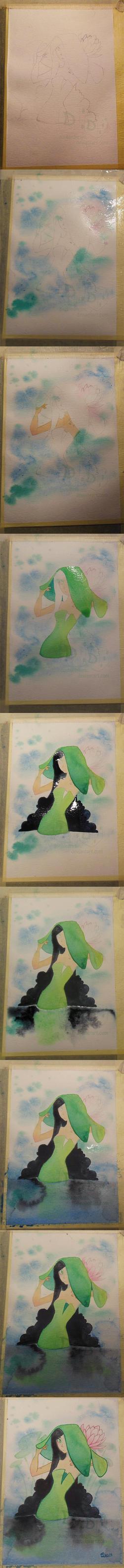 Peek - Watercolour Walkthrough by Doubledream
