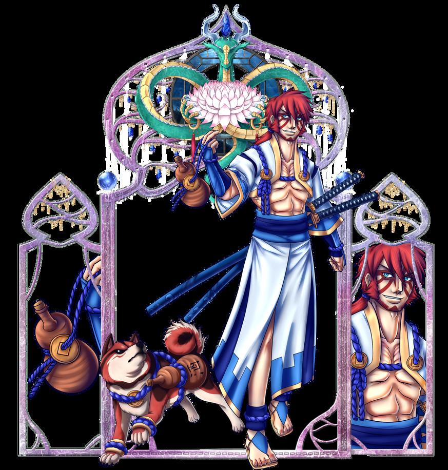 Ethernitas - Rokurou Zan by Dante-Aran