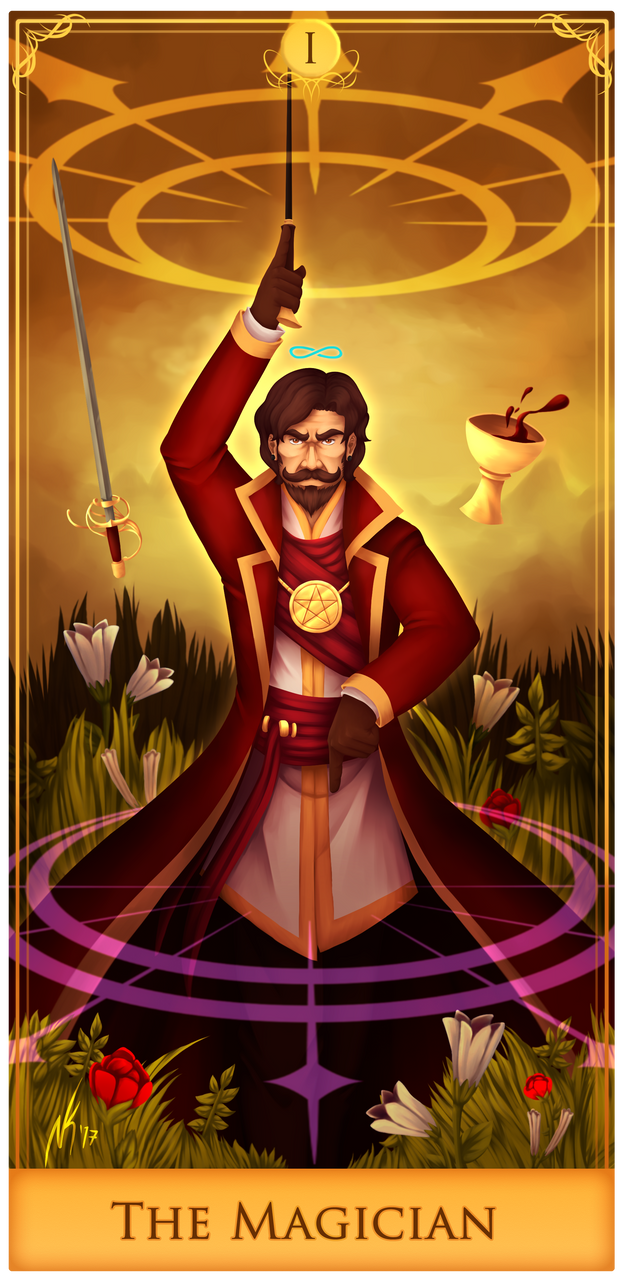 AA - The Magician Tarot by Dante-Aran on DeviantArt